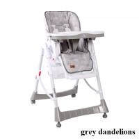 Стульчик для кормления Lorelli GUSTO (grey dandelions)