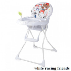 Стульчик для кормления Lorelli JOLLY (white racing friends)