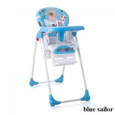 Стульчик для кормления Lorelli OLIVER (blue sailor)
