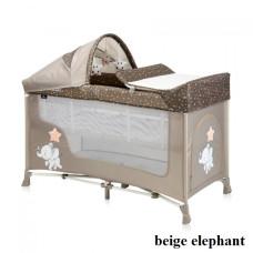 Манеж Lorelli SAN REMO 2L+ (beige elephant)