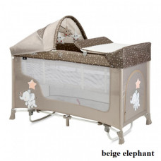 Манеж Lorelli SAN REMO 2L ROCKER (beige elephant)