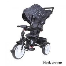 Велосипед 3х кол. Lorelli NEO (black crowns)