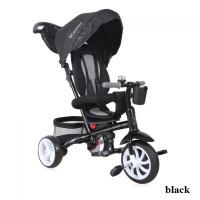 Велосипед 3х кол. Lorelli ROCKET (black)