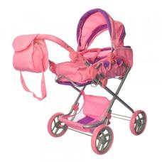 Коляска для кукол Melogo 9333/014/9119 (light pink)