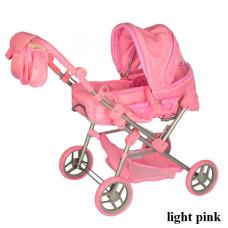 Коляска для кукол Melogo 9368/017 (light pink)
