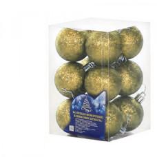Набор елочных шаров NewYEAR 8104-3 (gold)