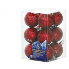 Набор елочных шаров NewYEAR 8104-4 (red)