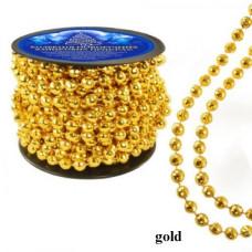 Бусы новогодние NewYEAR 8340 (gold)