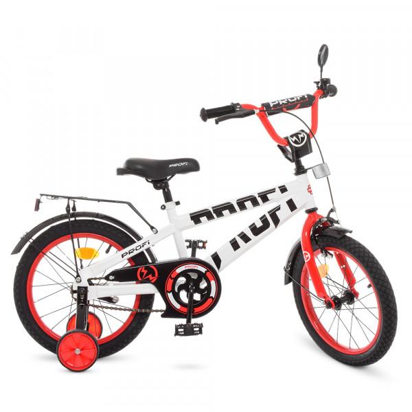 Детский двухколесный велосипед Profi T16172 Flash (white/red)