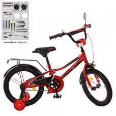 Детский двухколесный велосипед Profi Y18221 Prime (red)