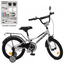 Детский двухколесный велосипед Profi Y18222 Prime (metallic)