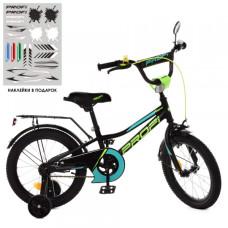 Детский двухколесный велосипед Profi Y18224 Prime (black)