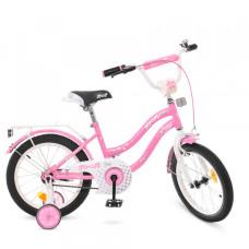 Детский двухколесный велосипед Profi Y1891 Star (pink)