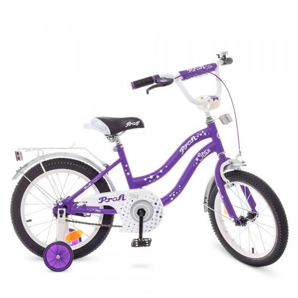 Детский двухколесный велосипед Profi Y1893 Lilac