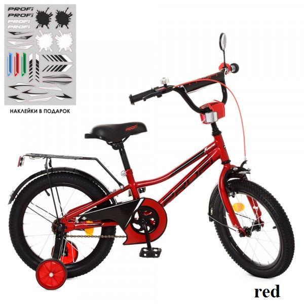 Детский двухколесный велосипед Profi Y16221 Prime (red)