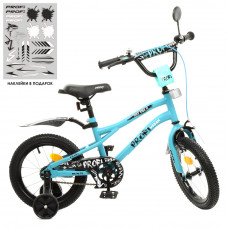 Детский двухколесный велосипед Profi Y14253 Urban (turquoise)