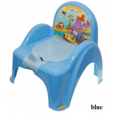 Горшок-кресло муз. Tega Safari PO-041 blue