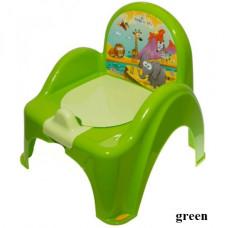Горшок-кресло муз. Tega Safari PO-041 green